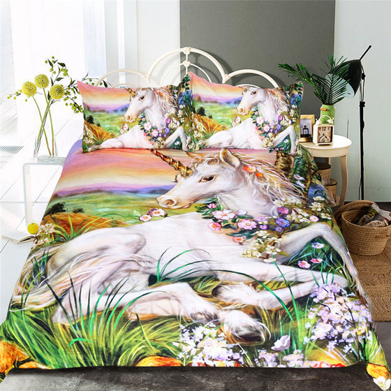 Unicorn Dreamland Bedding Set