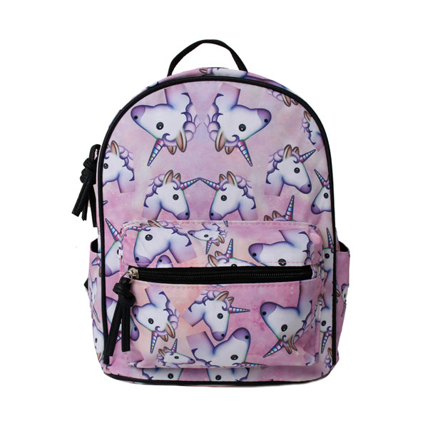Unicorn Emoji Mini Backpack