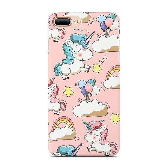 Unicorns & Skies iPhone Case