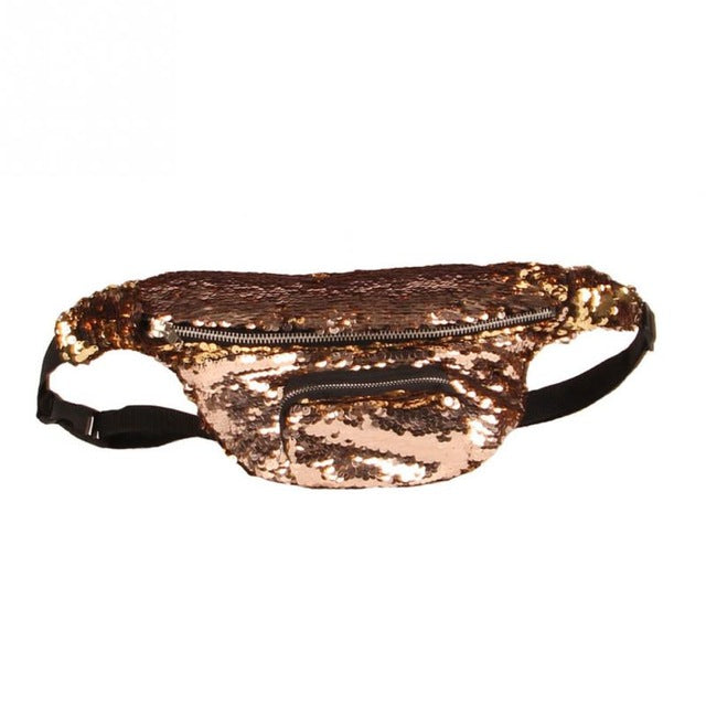 Sequin Mermaid Fanny Pack
