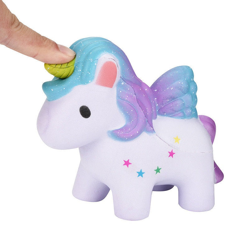 Squishy Rainbow Unicorn Toy