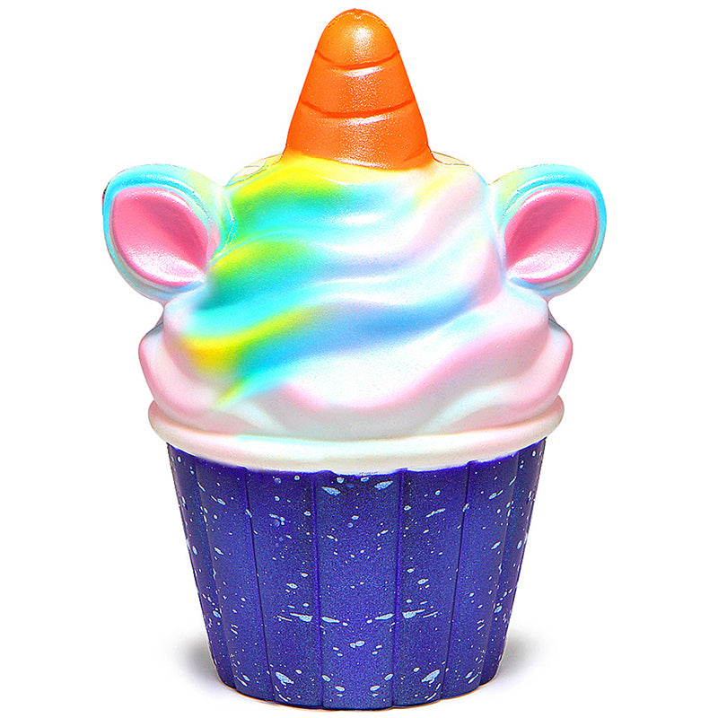 Squishy Unicorn Cupcake Toy