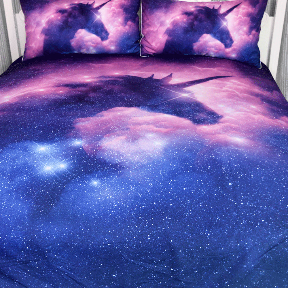 Unicorn Galaxy Bedding Set