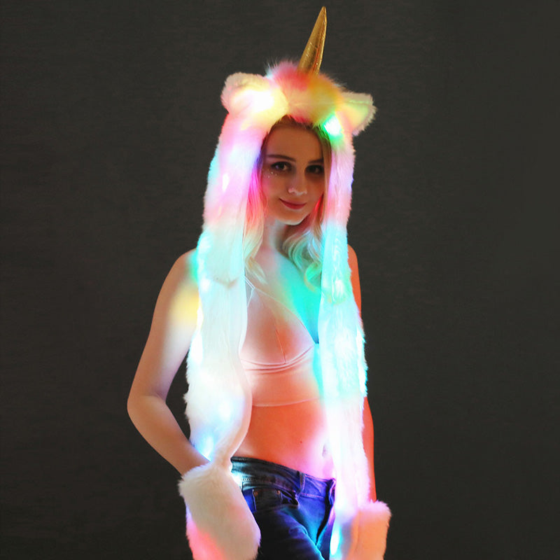 LED Megicorn Hood