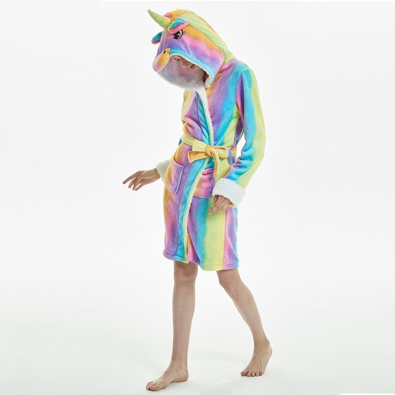 Unicorn Rainbow Robe