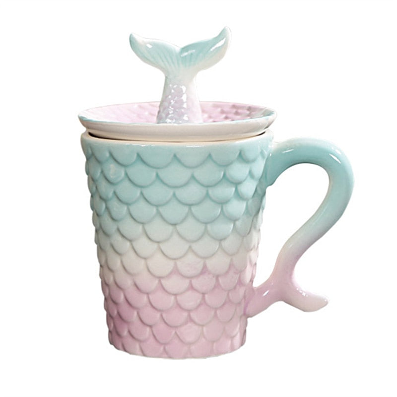 Pastel Dreams Mermaid Mug