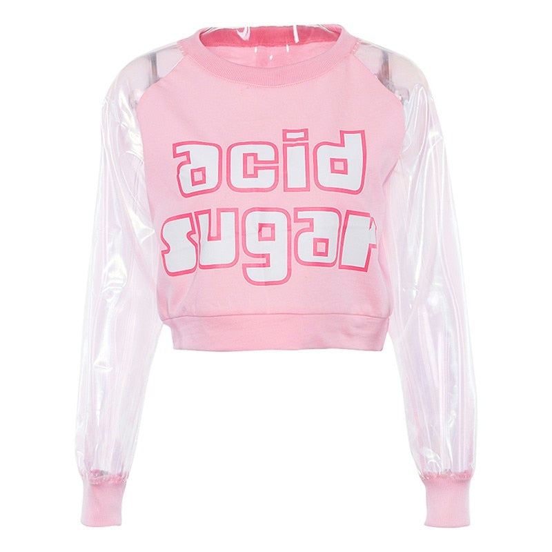 Acid Suger Crop Top