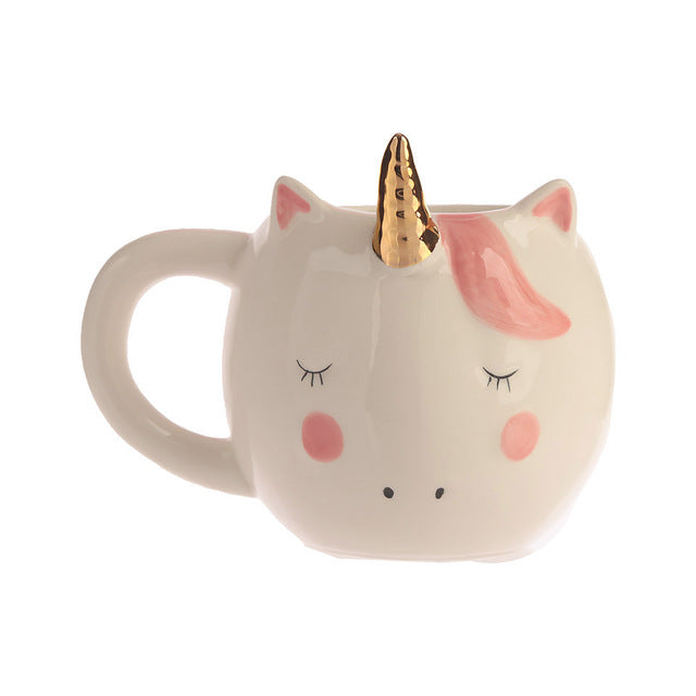 Sleepy Unicorn Mug