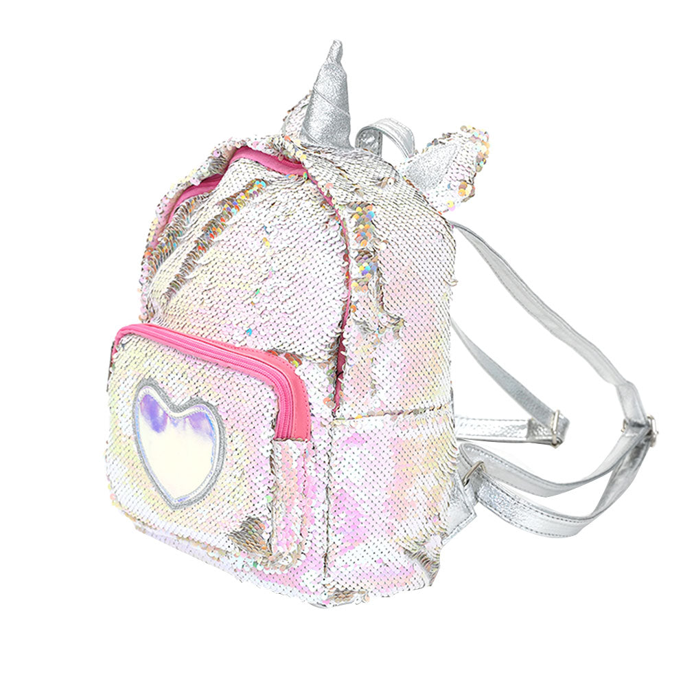 Princess Unicorn Sequins Backpack