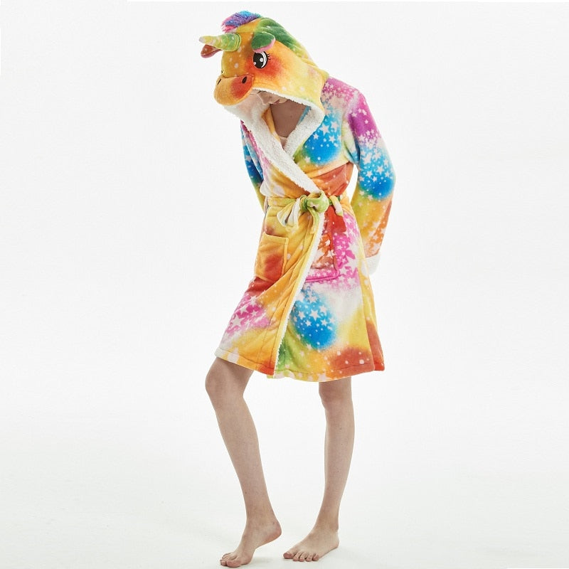 Star Rainbow Unicorn Robe