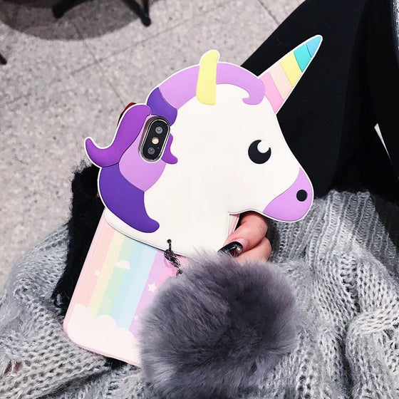 Unicorn Emoji IPhone Case