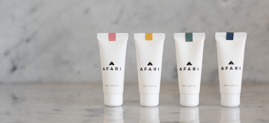 Try Afari's Starter Collection for gorgeous, glowing skin