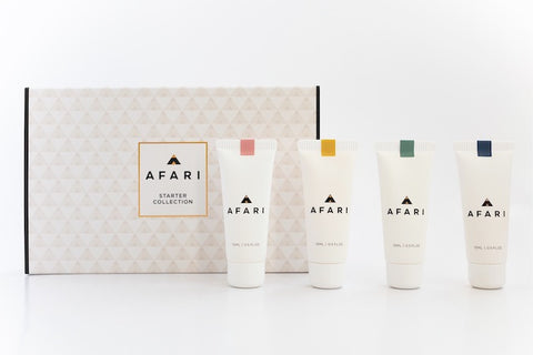 Afari Starter Collection - Shop Face online - Afari Skincare South Africa