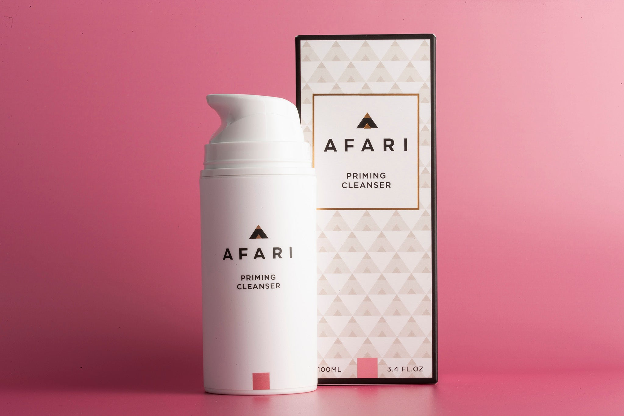 Priming and Foaming Cleanser - Shop Face online - Afari Skincare South Africa active ingredient, afari, all skin types, clean, cleanser, color_#71807E, priming cleanser