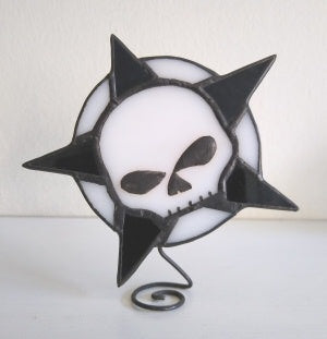 Limited Edition SkullStars - Art Glass from Fahrenheit Press