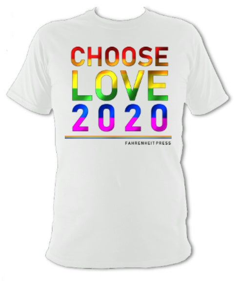 Choose Love 2020 Pride T-Shirt