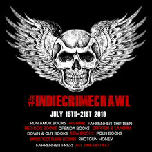 Indie Crime Crawl 2019 T-Shirt