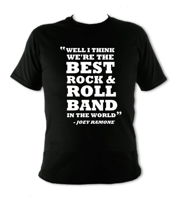Ramones : Best Rock & Roll Band T-Shirt