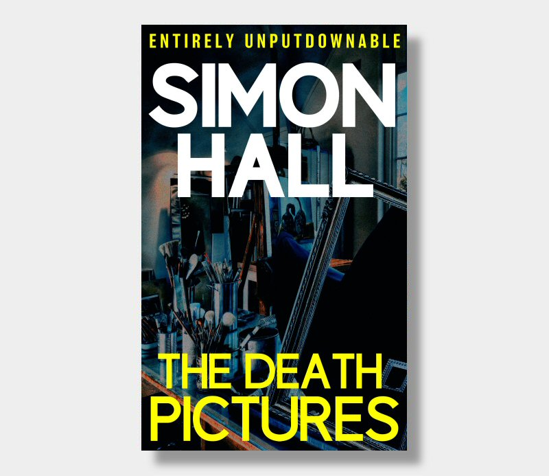 Simon Hall : The Death Pictures (Paperback)