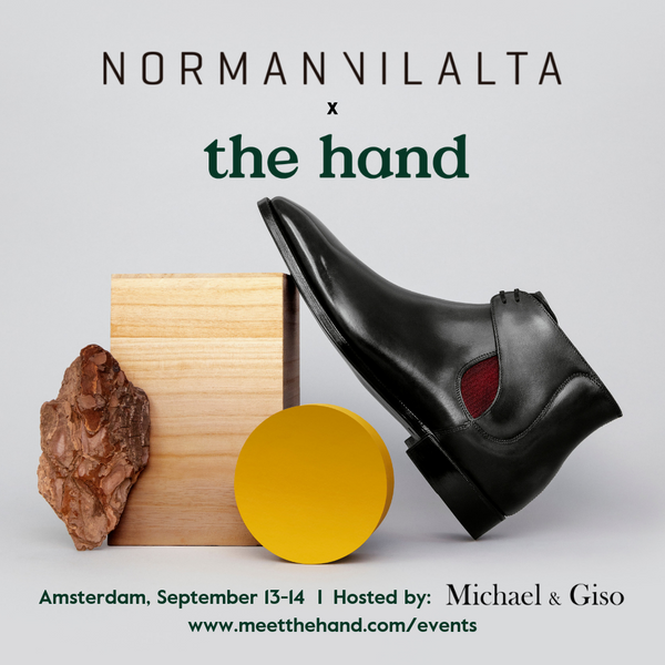 Norman Vilalta Trunk Show in Amsterdam with The Hand