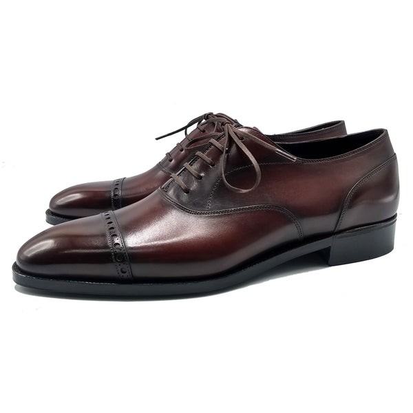 Norman Vilalta, Bespoke Shoemaker - Men's Shoes Barcelona, Spain - Captoe Oxford