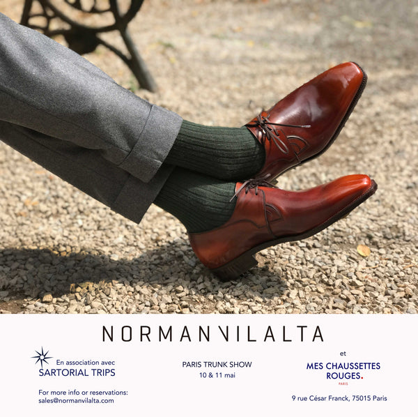 Norman Vilalta Trunk Show Paris, France May 10th and 11th