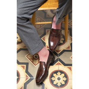 Penny Loafer Pierre & Hand-Stitched U-Tip Derby
