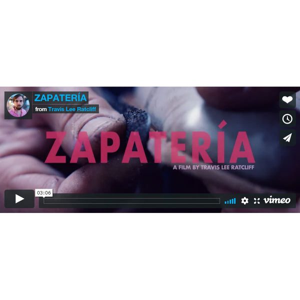 Zapateria shoemaking documentary on Norman Vilalta in Barcelona Spain