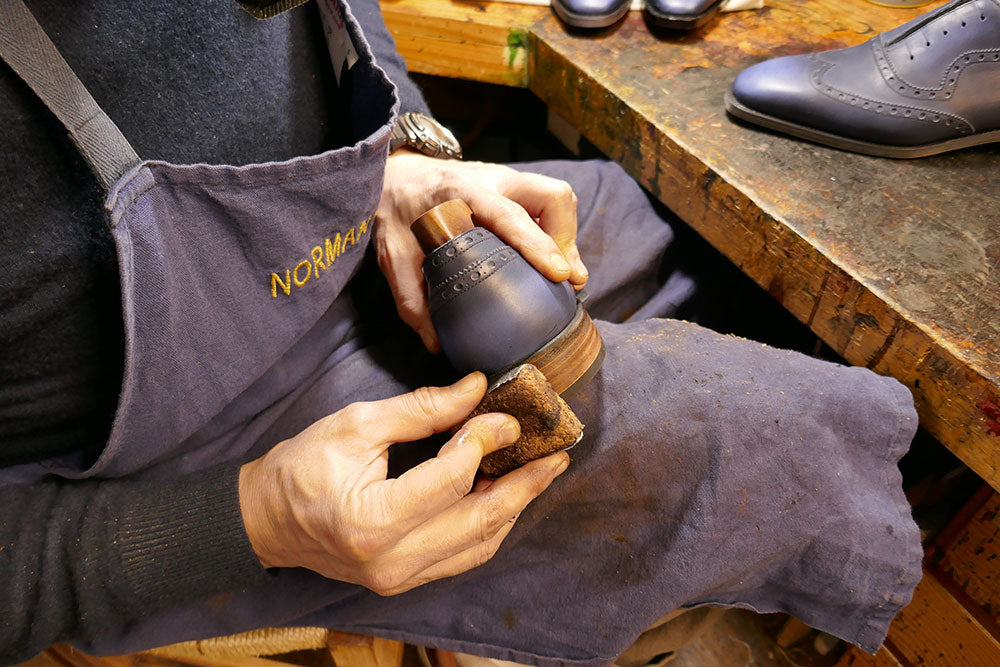 The Art of Hand Finishing Shoes by Norman Vilalta Bespoke Shoemakers