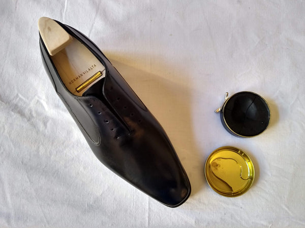 shoe polishing tips glacage preparation