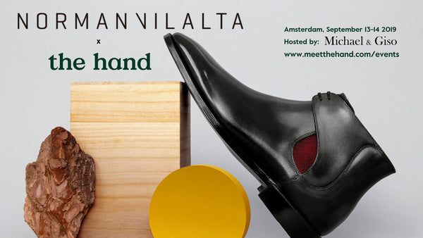 Norman Vilalta Trunk Show with The Hand