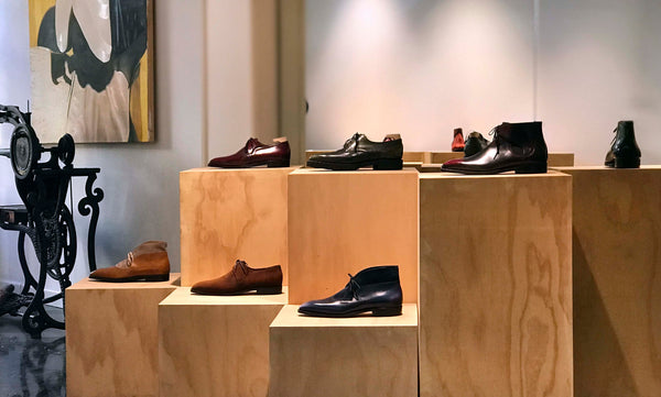 Norman Vilalta's men's shoes store in Barcelona, Spain