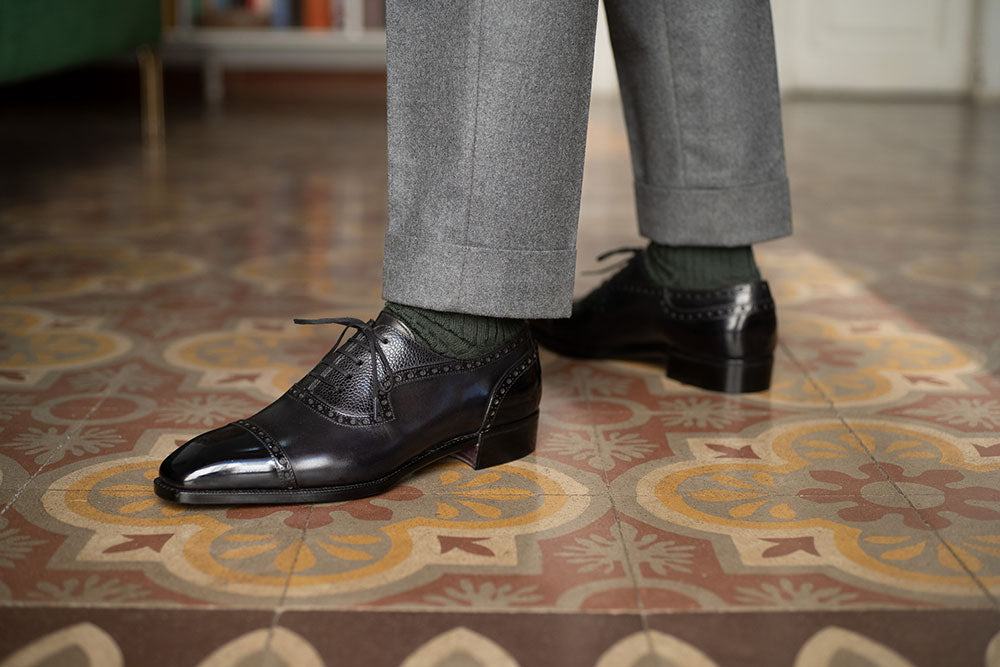 Adelaide Full Brogue by Norman Vilalta Bespoke Shoemakers