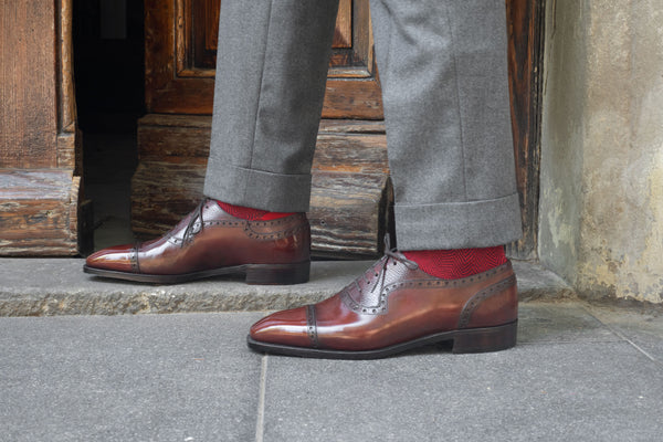 Adelaide Oxford Shoe made in Spain by Norman Vilalta