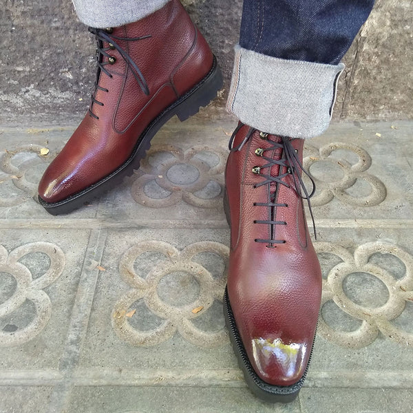 Balmoral Simple Boot by Norman Vilalta made in Spain