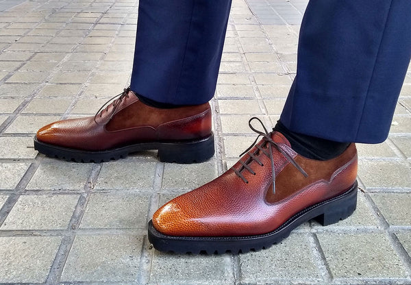 Balmoral Simple Combo Shoe by Norman Vilalta