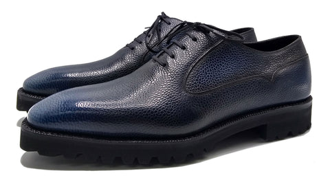 Balmoral Simple men's leather oxford shoe made in Spain