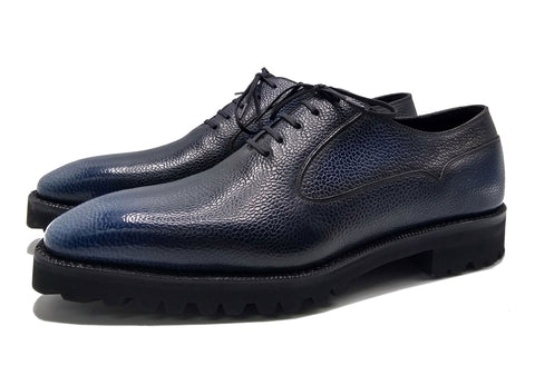 Balmoral oxford shoe goodyear welted and made in Spain