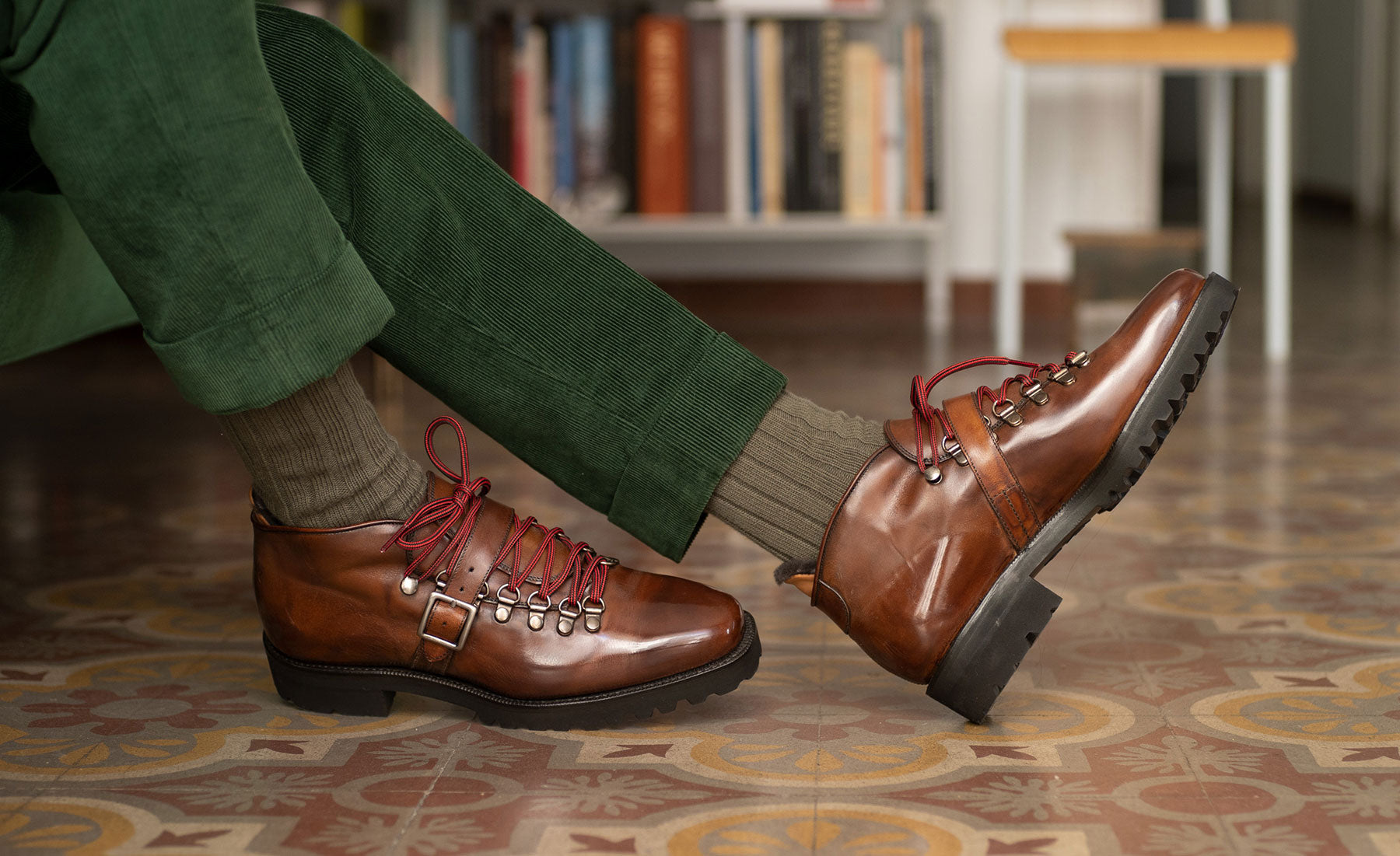 Borcego Mountain Boots by Norman Vilalta Bespoke Shoemakers