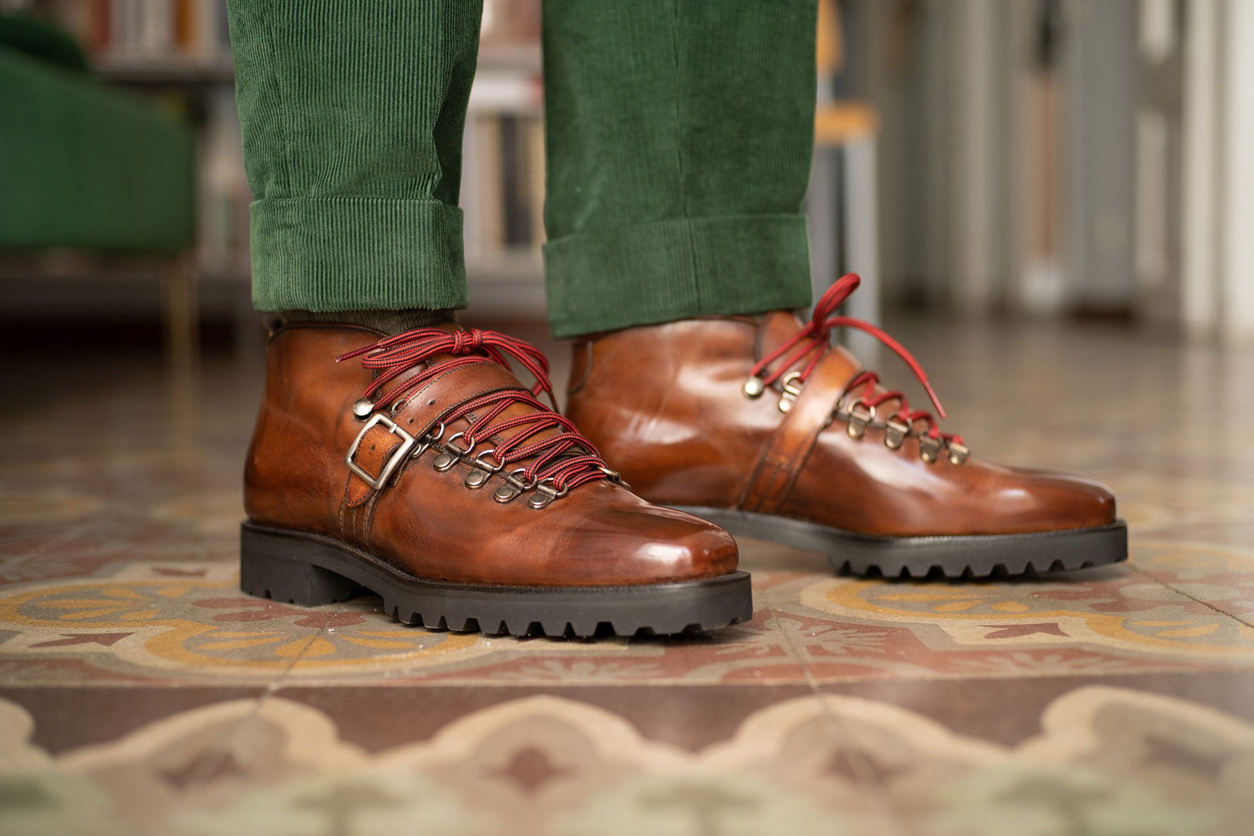 Borcego Mountain Boot by Norman Vilalta Bespoke Shoemakers