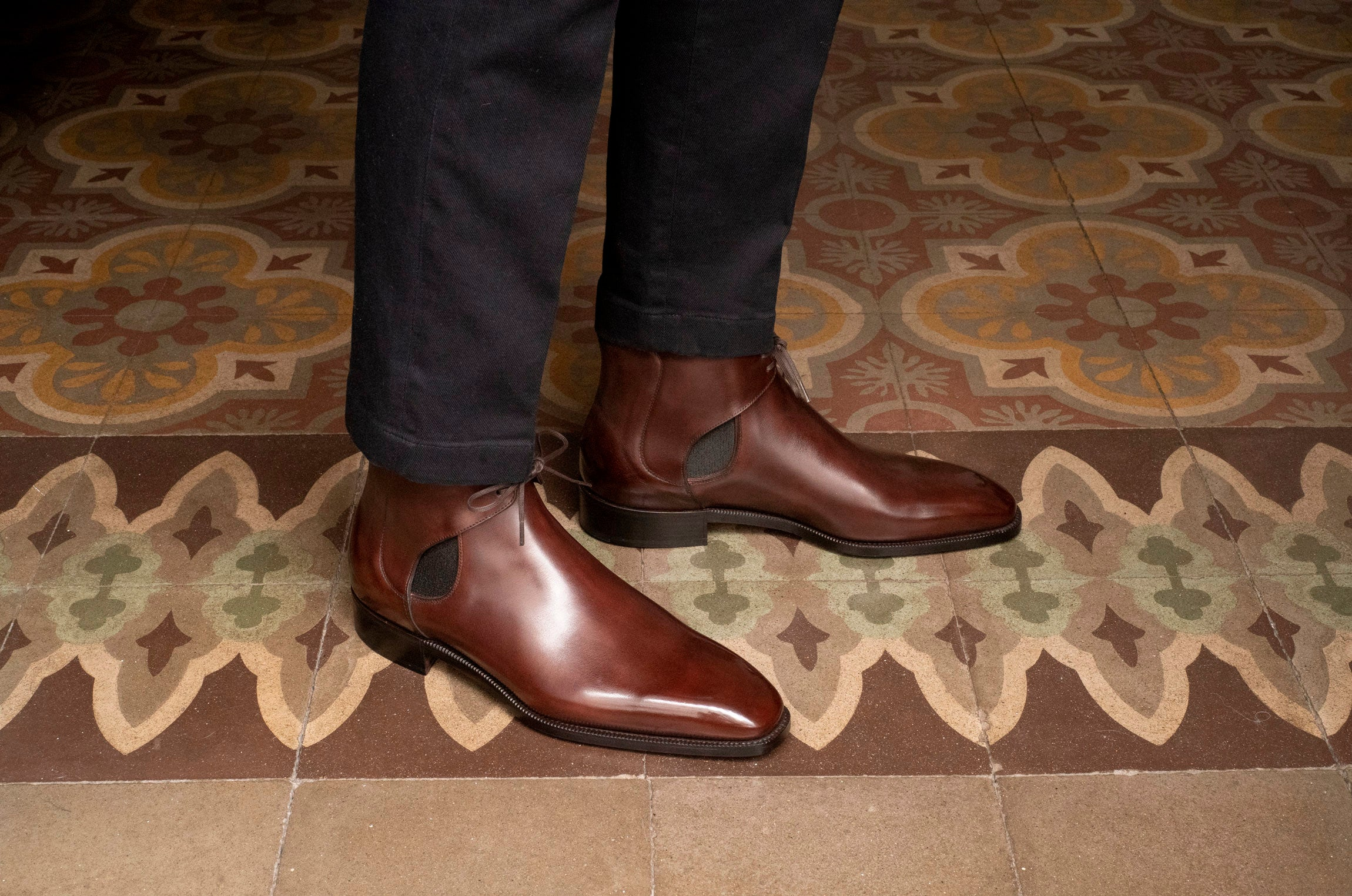 Decon Cheslea Boot by Norman Vilalta Bespoke Shoemakers