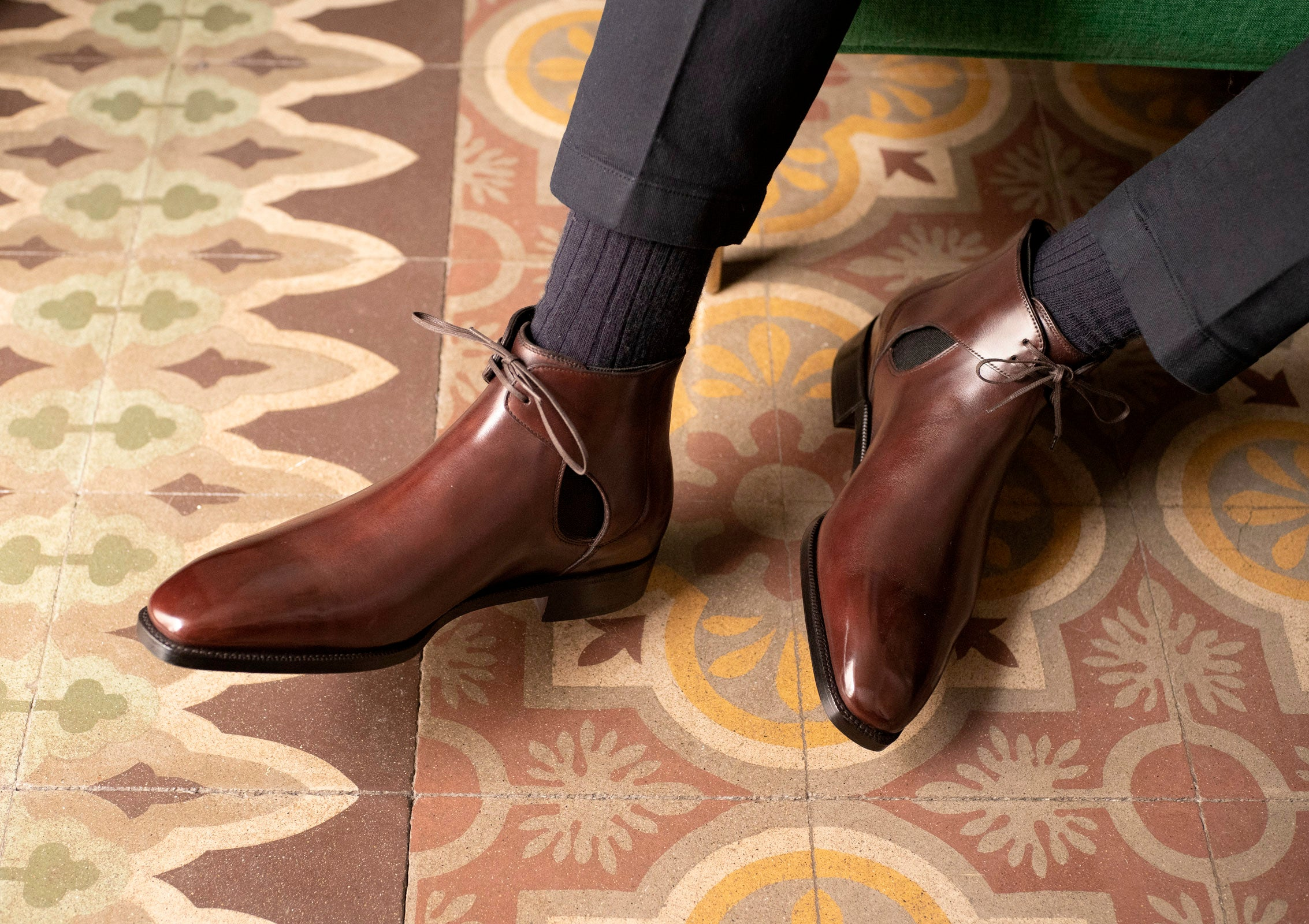 Decon Chelsea Boot by Norman Vilalta Bespoke Shoemakers