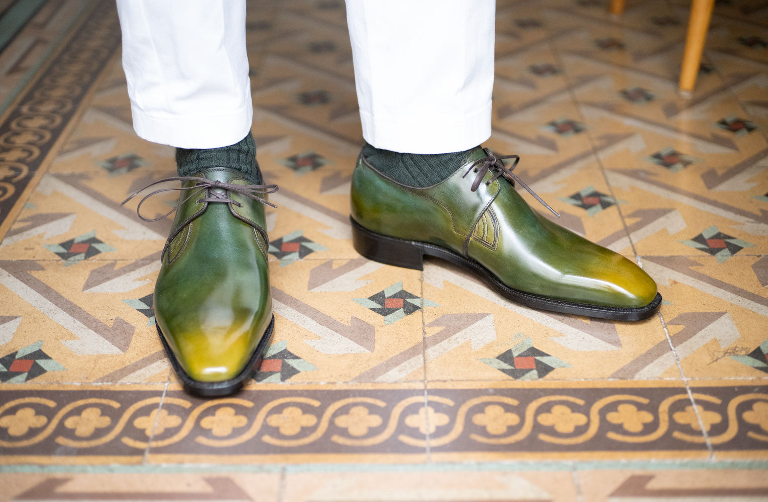 Decon Chelsea Shoe, Rodin Patina