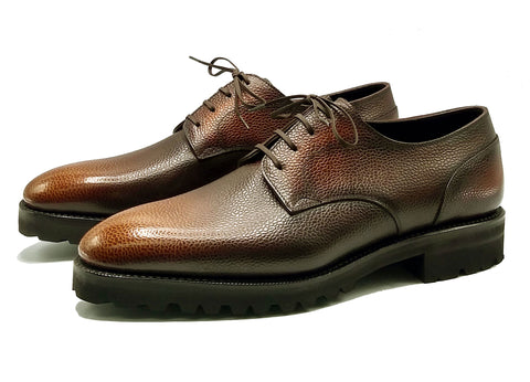 Men's derby shoe Goodyear welted and made in Spain