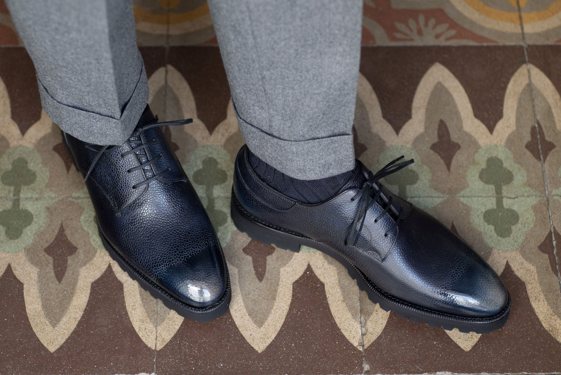 Derby Simple Shoes by Norman Vilalta Bespoke Shoemakers