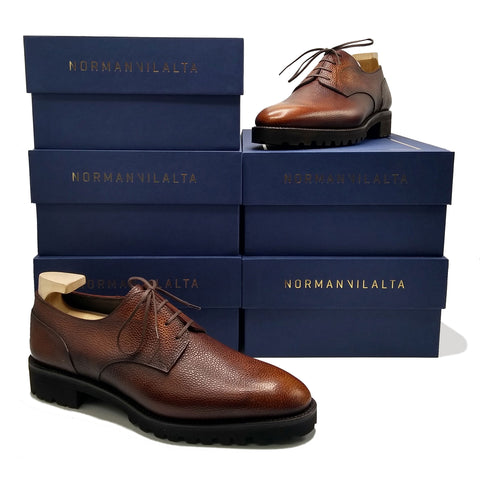 Derby Simple made in Spain by Norman Vilalta shipping and handling