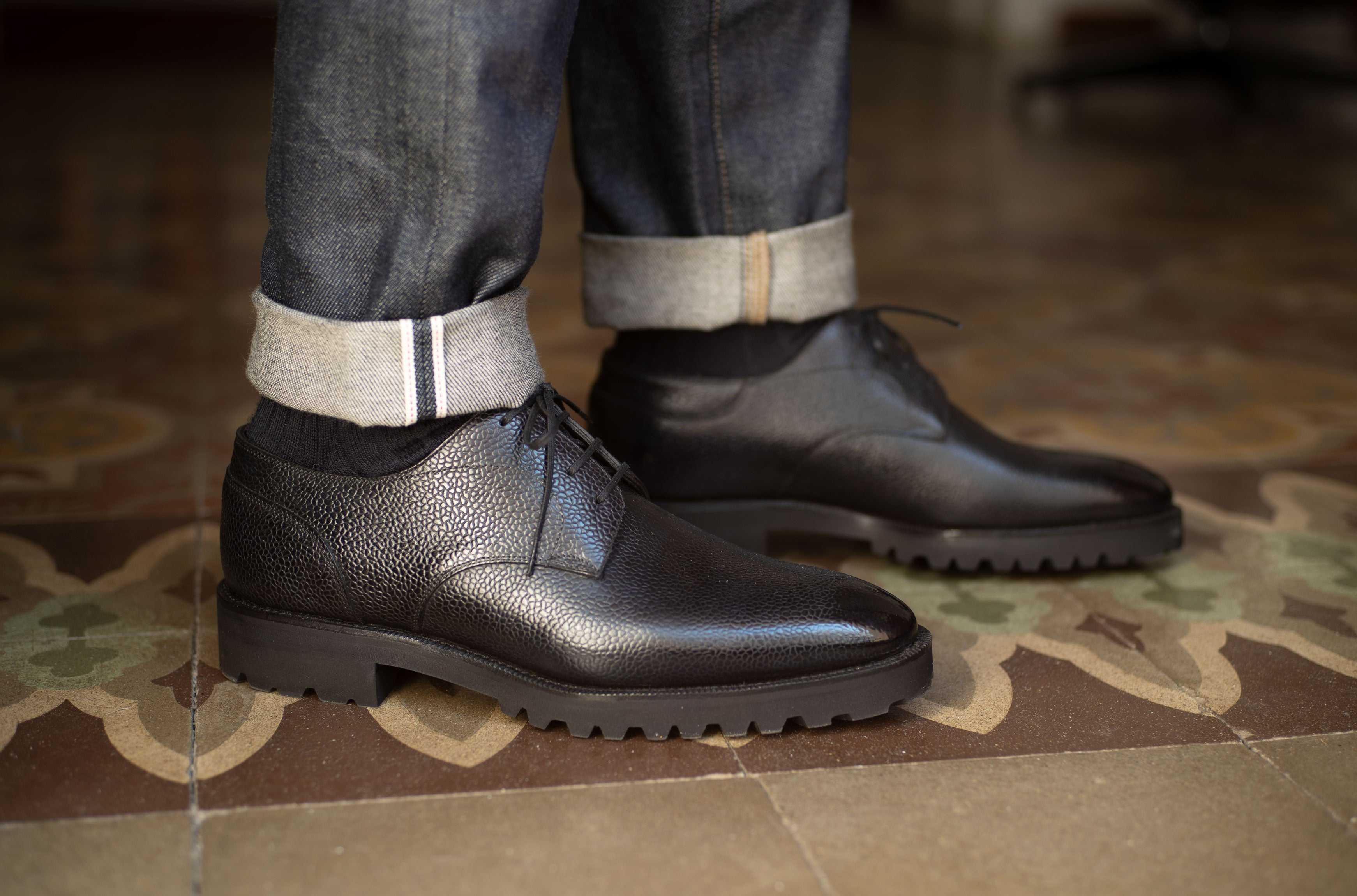 Derby Simple Shoe by Norman Vilalta Bespoke Shoemakers