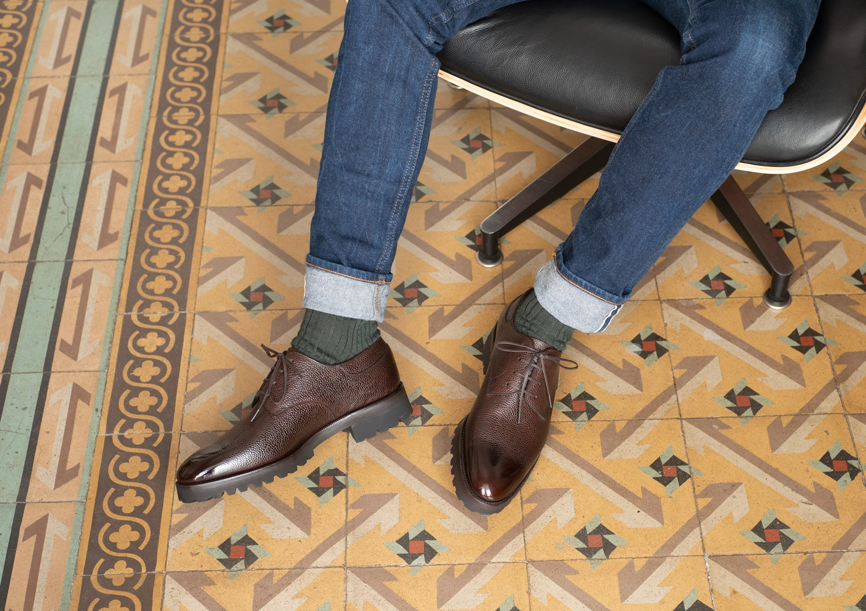 Derby Simple by Norman Vilalta Bespoke Shoemakers