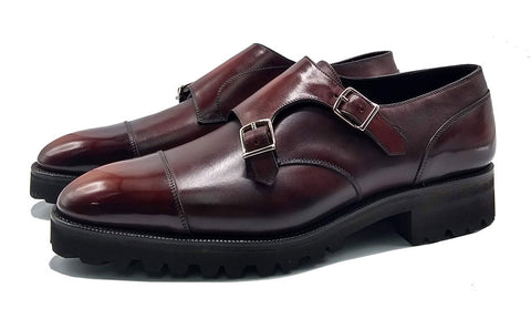 Made to order Double Monk Derby Shoe made in Spain by Norman Vilalta