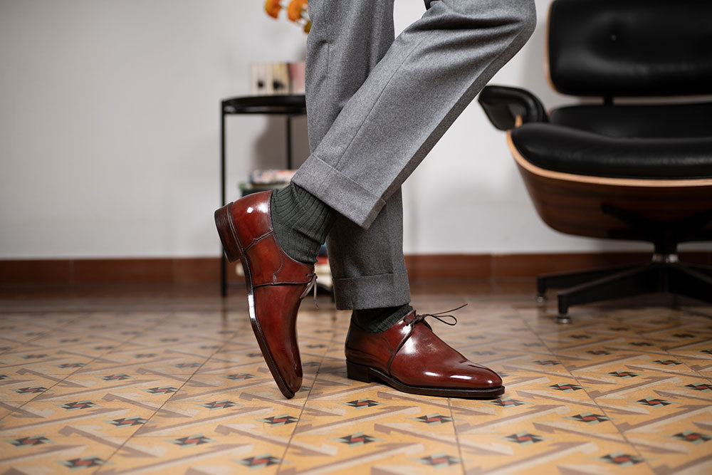 Eduardo One Eyelet Derby by Norman Vilalta Bespoke Shoemakers